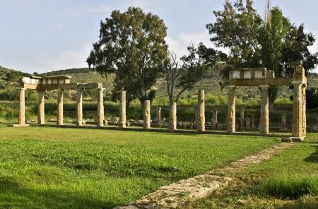 mystic place: Temple of Artemis of Vravrona in Attica, Greece