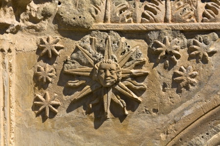 alchemical: Architectural detail from a church at Zakynthos, Greece
