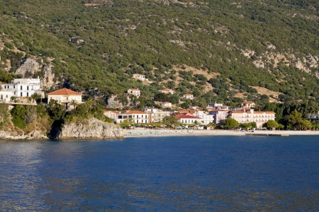 kefallonia: Village of Poros at Kefalonia island in Greece