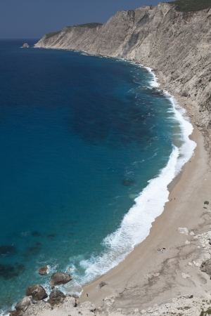 cefallonia: Kipouria beach at Kefalonia island in Greece