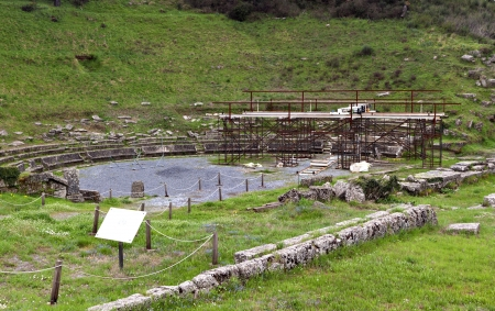 arkadia: Ancient Megalopolis at Arcadia in Greece