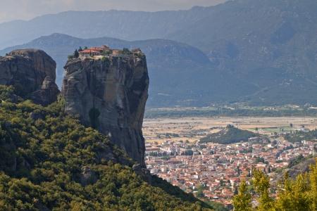 thessalia: Monastery of saint Trinity at Meteora in Greece