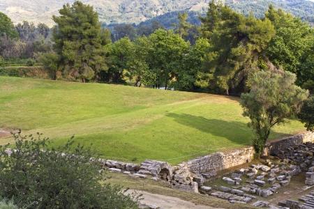 peloponissos: Ancient Olympia in Greece  The stadium