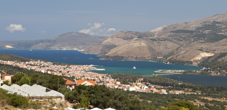 kefallonia: Greek island of Kefalonia and city of Argosoli