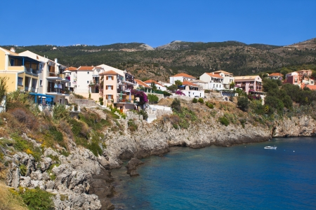 Kefalonia island in Greece at the ionian sea