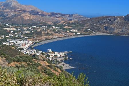 kreta: Plakias bay at South Crete island in Greece