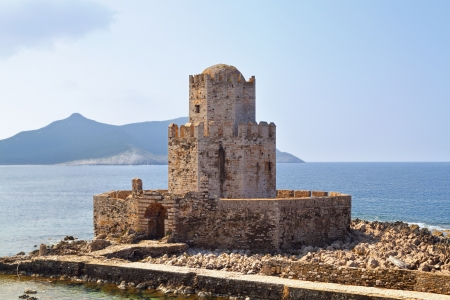 peloponnise: Castle of Methoni at Peloponnese, Greece