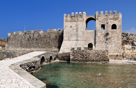 peloponnise: Castle of Methoni at Peloponnese, Greece Editorial