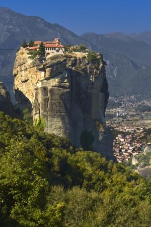 kalambaka: Monastery at Meteora of Kalambaka in Greece