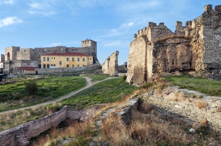 Medieval castle at Thessaloniki city in Greece