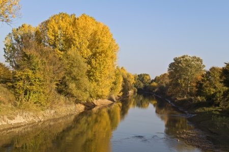 Agitis river at north Greece Stock Photo - 16040231