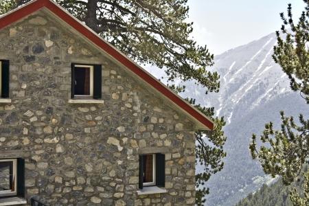 olimpo: Refugio de monta�a Agapitos a Olimpo en Grecia
