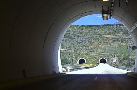 schlagbaum: Egnatia internationalen Autobahn in Griechenland