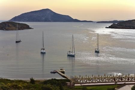 athens: Cape sounio area at Attica, Greece
