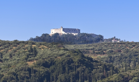 peloponnise: Castle of Kyllini at Peloponnese, Greece