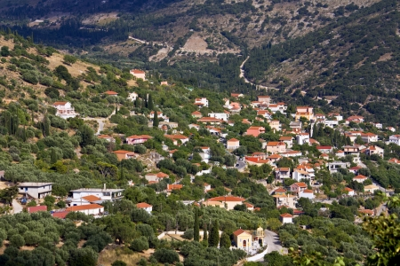 kefallinia: Tradiotinal village at Kefalonia island in Greece