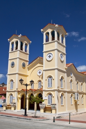 kefallinia: Metropolitan church of Lixouri city at Kefalonia island