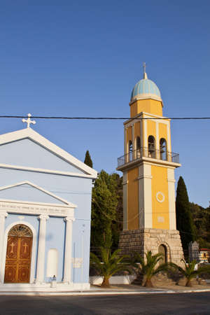 kefalinia: Traditional church of the Holy Mother at Kefalonia island in Greece