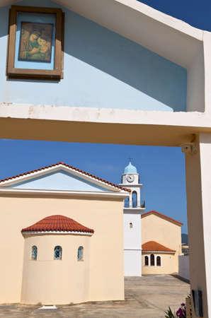 kefallinia: Monastery of Iperagias Theotokou at Kefalonia, Greece