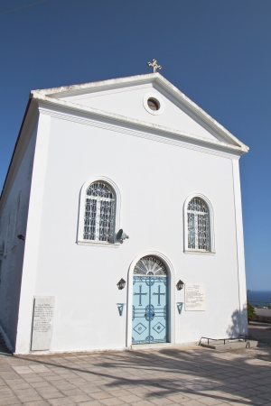 cefallonia: Traditional church at Kefalonia island in Greece
