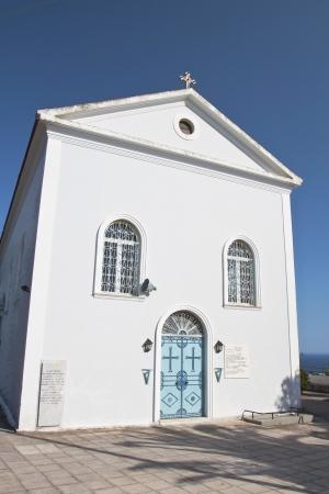 kefallonia: Traditional church at Kefalonia island in Greece