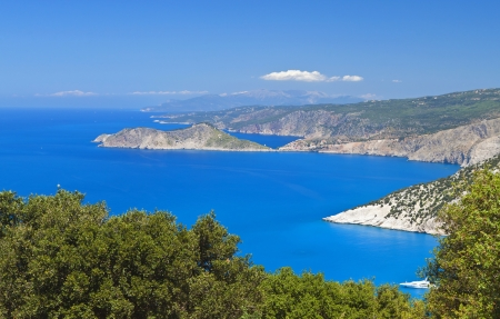 kefallinia: Kefalonia island in Greece at the ionian sea