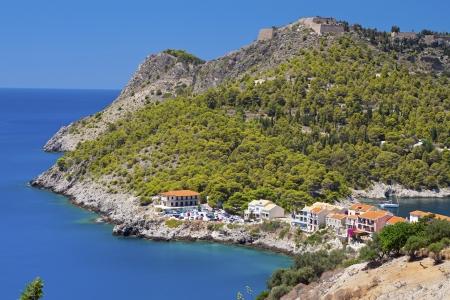 Kefalonia island in Greece at the ionian sea