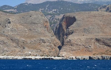 wilds: Crete island near the Aghia Roumeli bay, Greece
