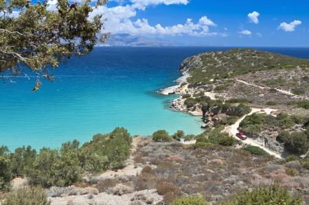 Mirabello gulf at Crete island in Greece photo
