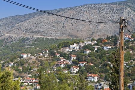ano: Ano Volos village at Pelion in Greece