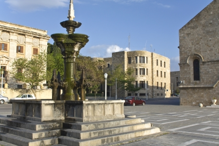 apses: City of Rhodes at Greece