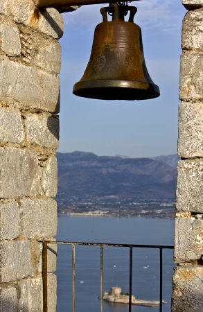 nauplio: Nafplio city at Peloponnese, south Greece  Stock Photo