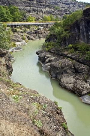 thessalia: Bridge at central Greece  Venediktos river