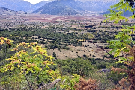 peloponissos: Arcadia mountains and landscape in Greece