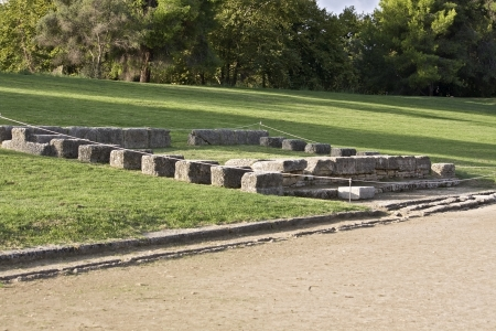 Ancient Olympia in Greece  The stadium