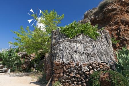 kreta: Traditional settlement at Crete island in Greece