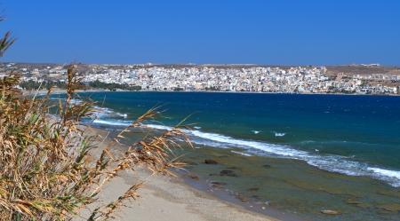 kreta: Sitia city and the beach at Crete island in Greece