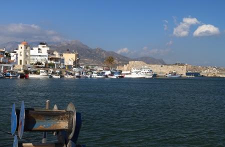 kreta: Ierapetra city at Crete island in Greece