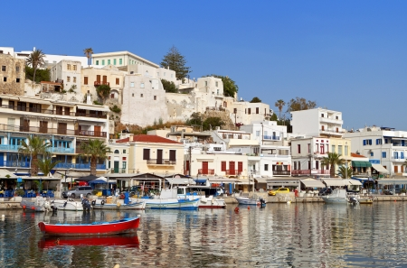 naxos: Naxos island at the Cyclades in Greece Stock Photo