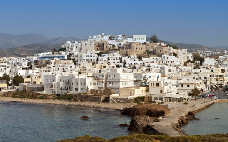 Naxos island at the Cyclades in Greece photo