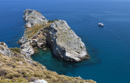 skiathos: View from the old castle of Skiathos island in Greece