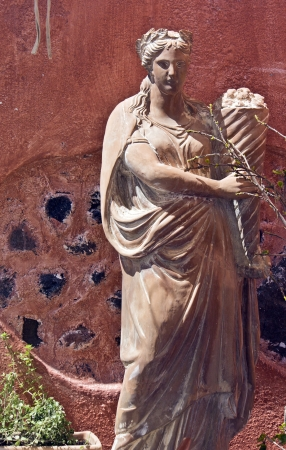 rosicrucian: View of a greek classic statue of a Goddess