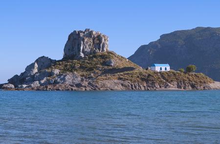 islet: Kastri islet at Kos island in Greece
