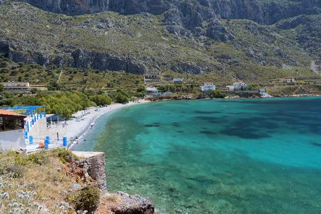 Arginontas beach at Kalymnos island in Greece
