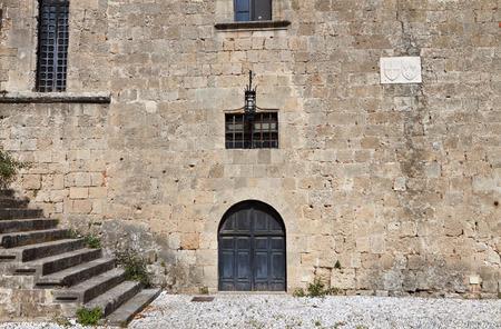 templars: Medieval city of Rhodes island in Greece Editorial