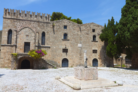 templars: Medieval city of Rhodes island in Greece Editorial