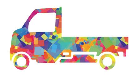 carries: Il camion luce che porta un sogno