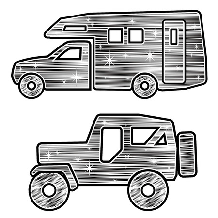 new motor vehicles: Gorgeous camper and FWD