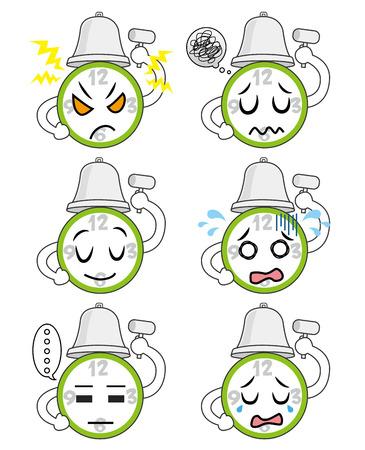 目覚まし時計の感情