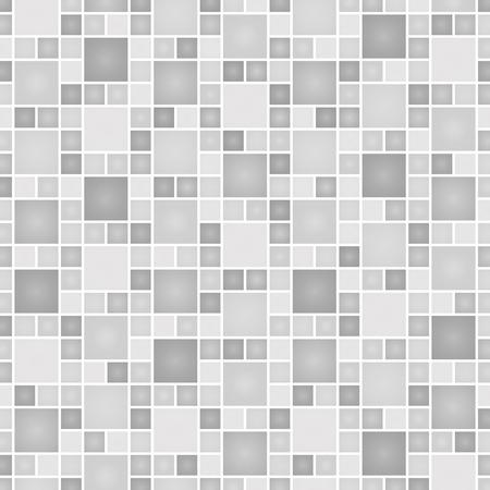 列 (モノクロ) に並ぶ正方形のテクスチャ
